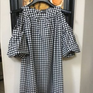 ZARA Trafaluc Cold shoulder Dress NWOT SZ SMALL